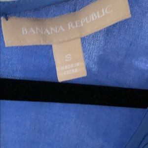 Banana republic Purple tank